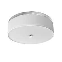 "Dainolite CFLED-D1620-SC - 16"" LED Flush Mount, Satin Chrome Finish"