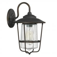 Capital Canada 9601OB - 1 Light Outdoor Wall Lantern