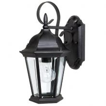 Capital Canada 9726BK - 1 Lamp Outdoor Wall Fixture