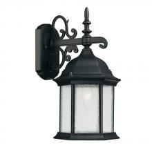 Capital Canada 9833BK - 1 Light Wall Lantern