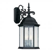 Capital Canada 9834BK - 3 Light Wall Lantern