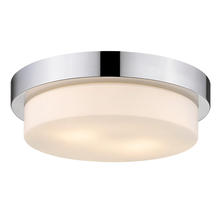 Golden Canada 1270-13 CH - Multi-Family Flush Mount in Chrome with Opal Glass