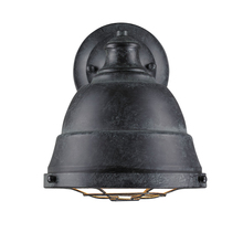 Golden Canada 7312-1W BP - Bartlett 1 Light Wall Sconce in Black Patina