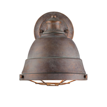 Golden Canada 7312-1W CP - Bartlett 1 Light Wall Sconce in Copper Patina