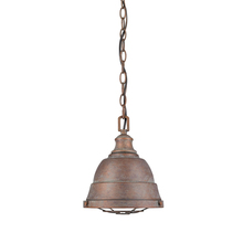 Golden Canada 7312-S CP - Bartlett Mini Pendant in Copper Patina