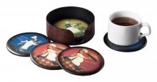 Sterling Industries 118-005 - Bust Chef Coaster Set