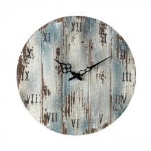 Sterling Industries 128-1008 - Wooden Roman Numeral Outdoor Wall Clock.