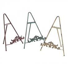 Sterling Industries 129-1066 - Set Of 3 Iron Book Stands