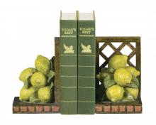 Sterling Industries 93-5623 - Pair of Lemon Orchard Bookends
