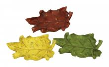 Sterling Industries 93-6701 - SET/3 AUTUMN LEAF DISHES