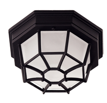 Savoy House Canada 07065-BLK - Exterior Collections Flush Mount