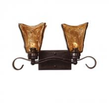 Uttermost 22800 - Uttermost Vetraio 2 Light Bronze Vanity Strip