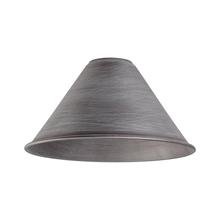 ELK Lighting 1027 - Cast Iron Pipe Optional Cone Shade