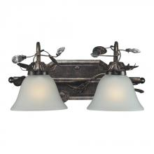 ELK Lighting 16026/2 - Two Light Deep Rust Vanity