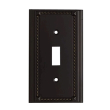 ELK Lighting 2501AGB - Clickplates Single Switch Plate In Aged Bronze