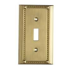 ELK Lighting 2501BR - Clickplates Single Switch Plate In Brass