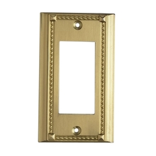 ELK Lighting 2502BR - Clickplates Single Plate In Brass