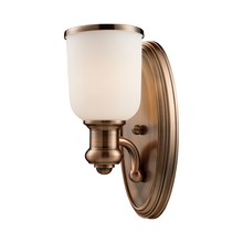 ELK Lighting 66180-1 - Brooksdale 1 Light Wall Sconce In Antique Copper